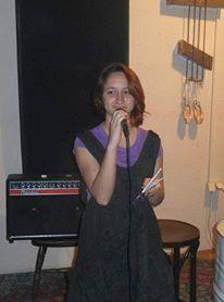 Nina Petrov performing standing up